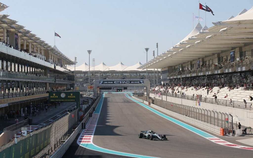 Abu Dhabi Grand Prix 2018: What's happening on the track