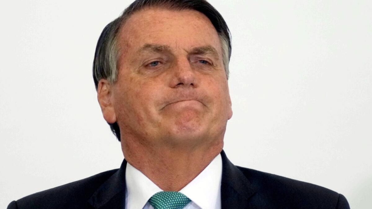 Jair Bolsonaro. — AP