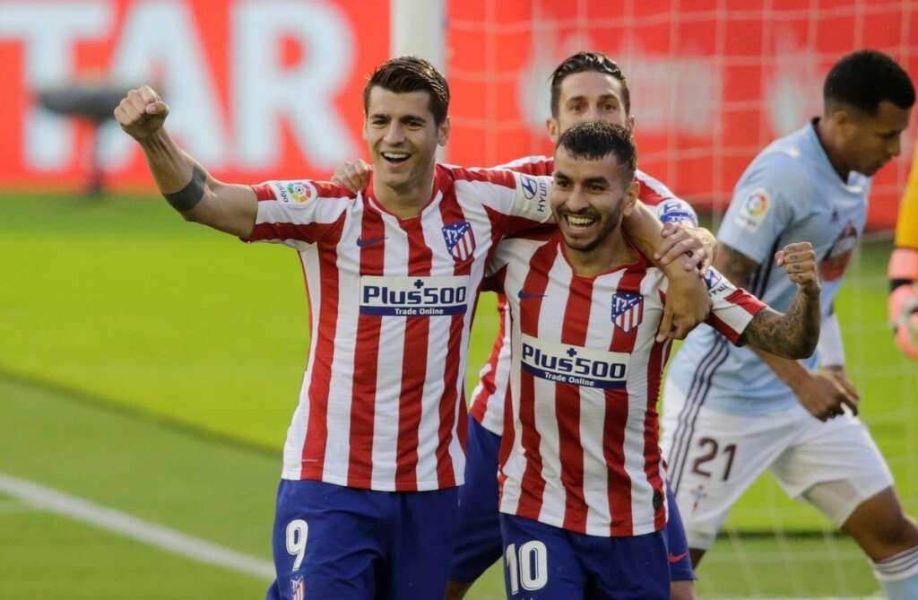 Atletico Madrid, 1-1, draw, Celta Vigo, La Liga, Spain, Alvaro Morata