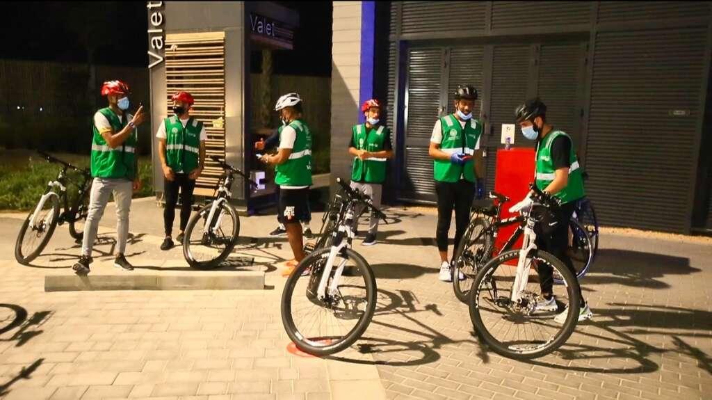 Combating, coronavirus, Hundreds fined, warned, Dubai cycle patrols, enforce, Covid-19 rules