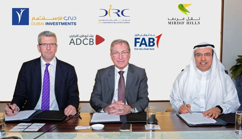 DIRC raises Dh1.1b in financing deal with FAB and ADCB