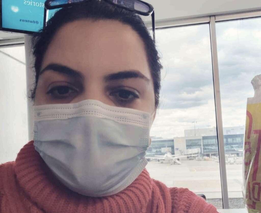 Frankfurt airport, UAE, resident, Indian woman