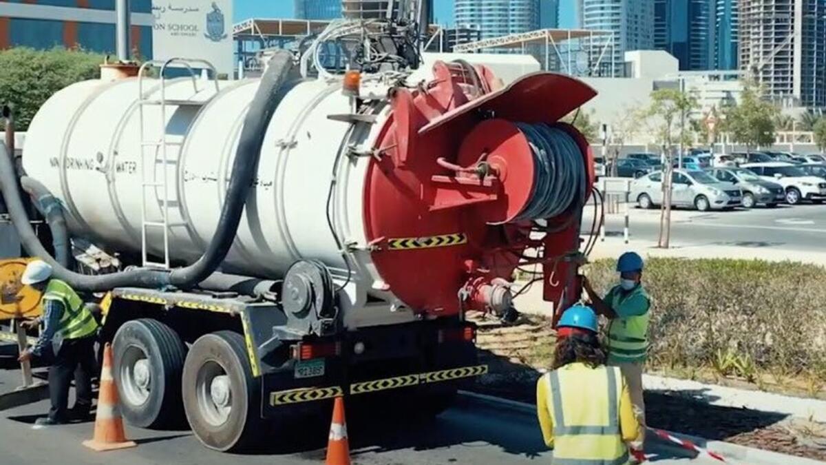 UAE: Abu Dhabi drainage network enhanced ahead of rainy season