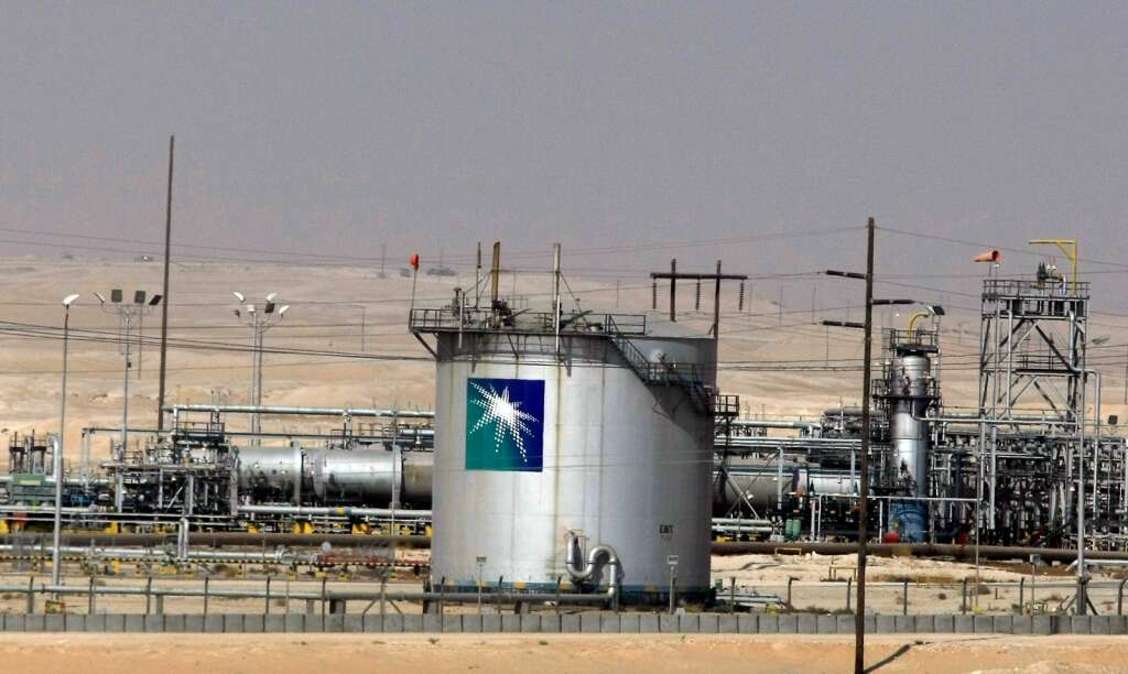 A general view of the Saudi Aramco oil facility in Dammam. The continuous fall in oil prices in the last two years is a sign of great concern for oil-exporting countries in the GCC.