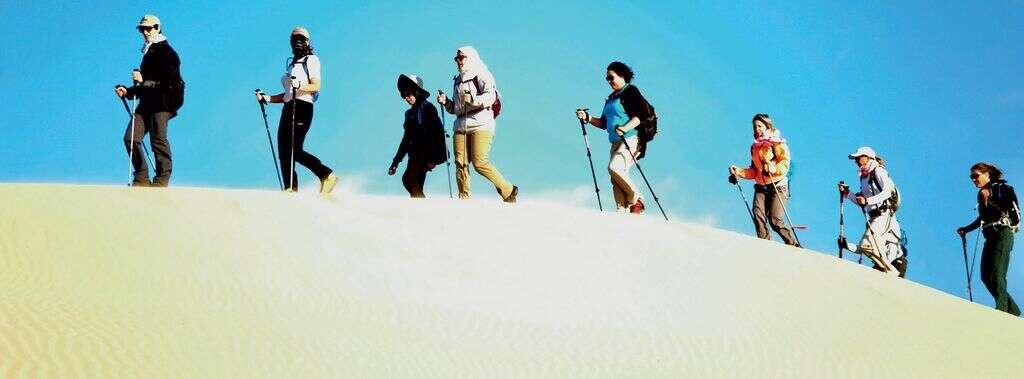 50 women to trek on paths of Emirati women
