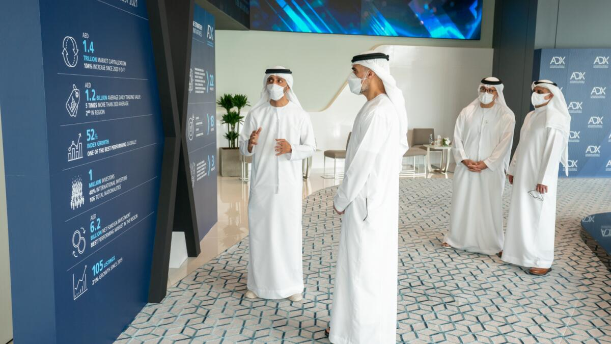 The launch of the trading floor at ADX's new premises coincides with the launch of ADX's new brand, which advances the exchange's ADX One strategy to enhance liquidity