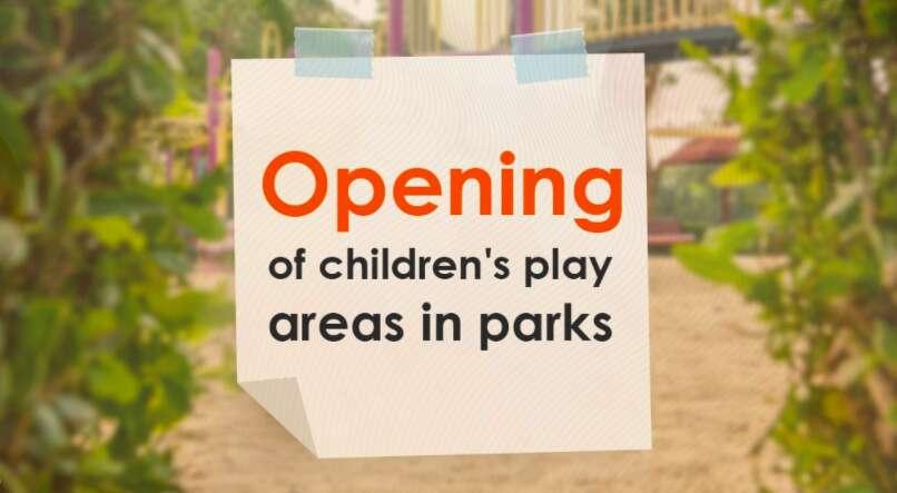 Dubai Municipality, dubai parks, children's play areas