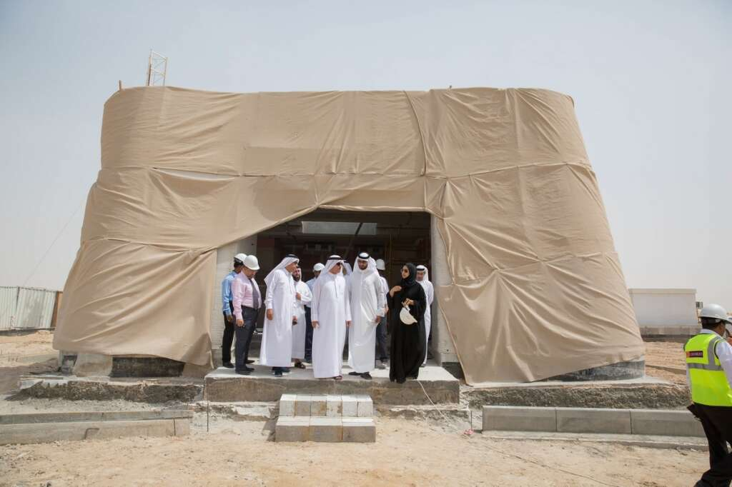 Worlds first ever 3D-printed laboratory almost ready in Dubai