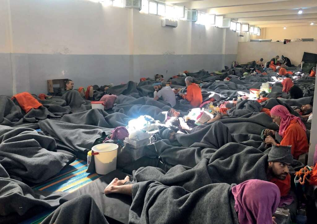 KT exclusive, Inside, overcrowded, Daesh prison,  Daesh militants