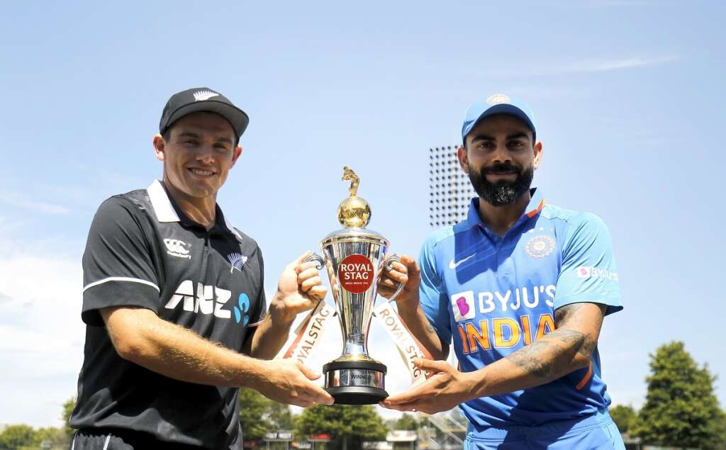 India look to continue domination over Kiwis