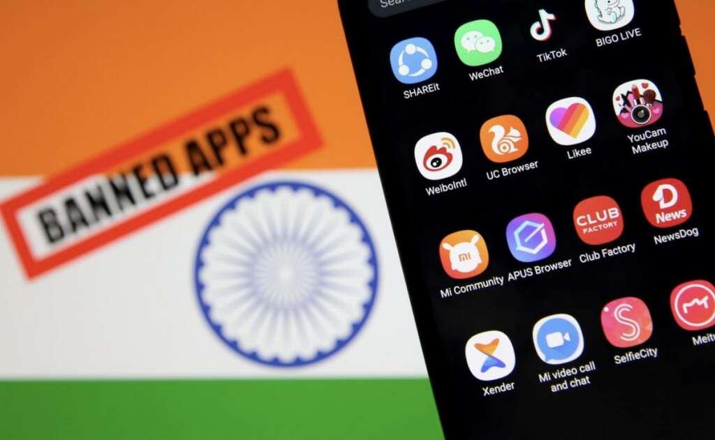 India, Chinese app ban, WeChat, TikTok, china