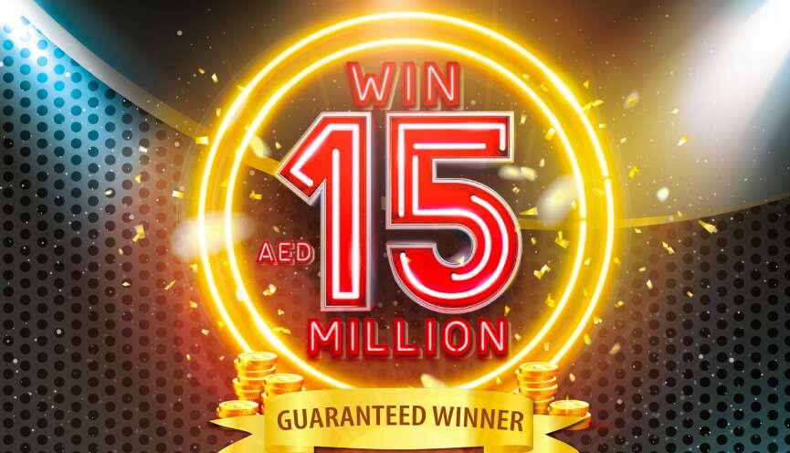 Big Ticket Abu Dhabi, raffle, Dh15 million jackpot