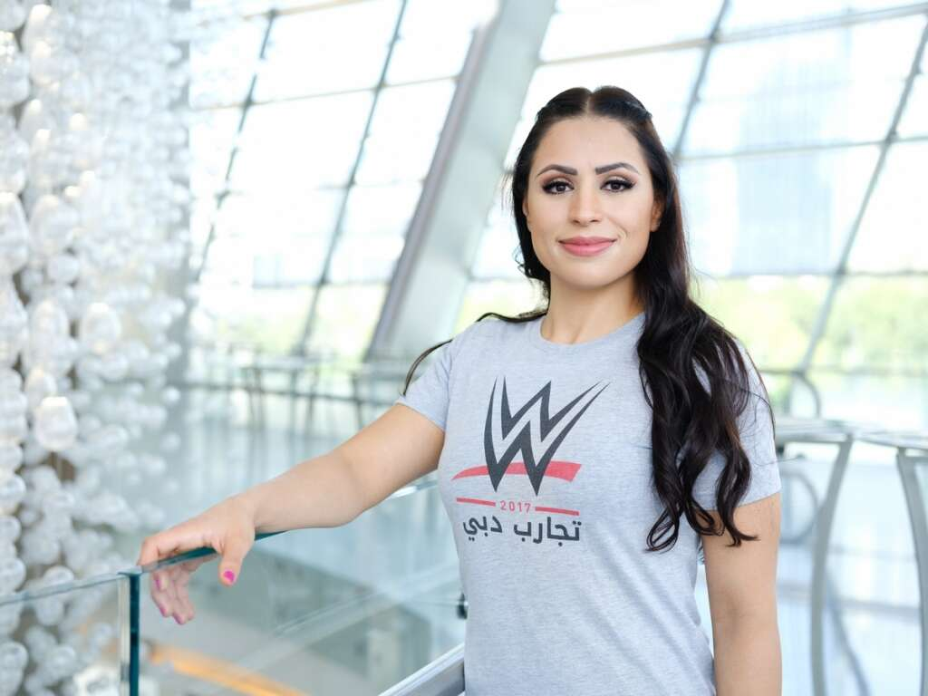 Shadia Bseiso wrestles her way to history