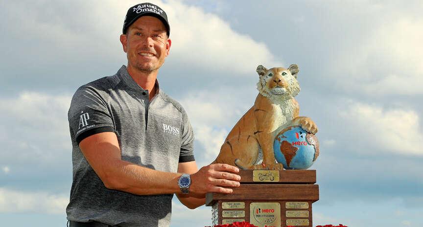 Stenson holds nerve to win World Challenge