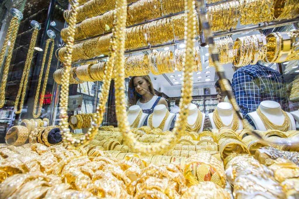 Gold prices in full swing