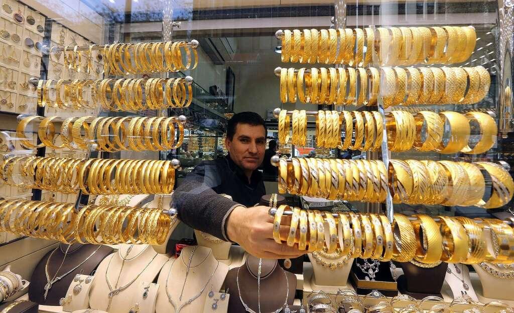 Gold hits 12-week high
