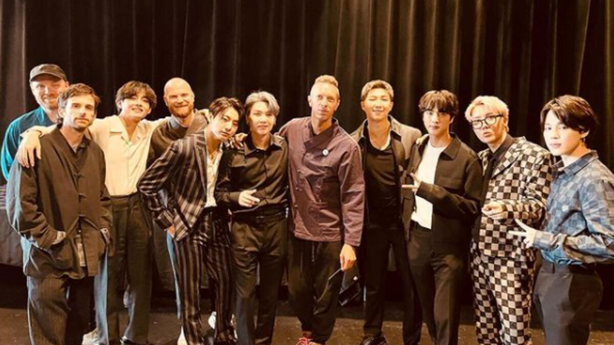 BTS, Coldplay drop their new single My Universe