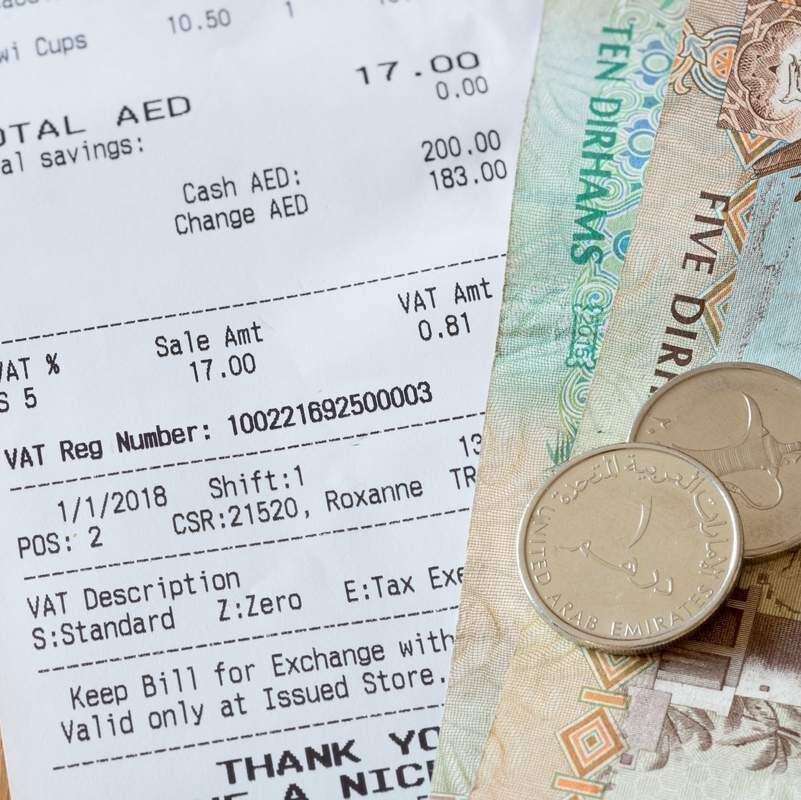 Why UAE consumers must ask for tax receipt