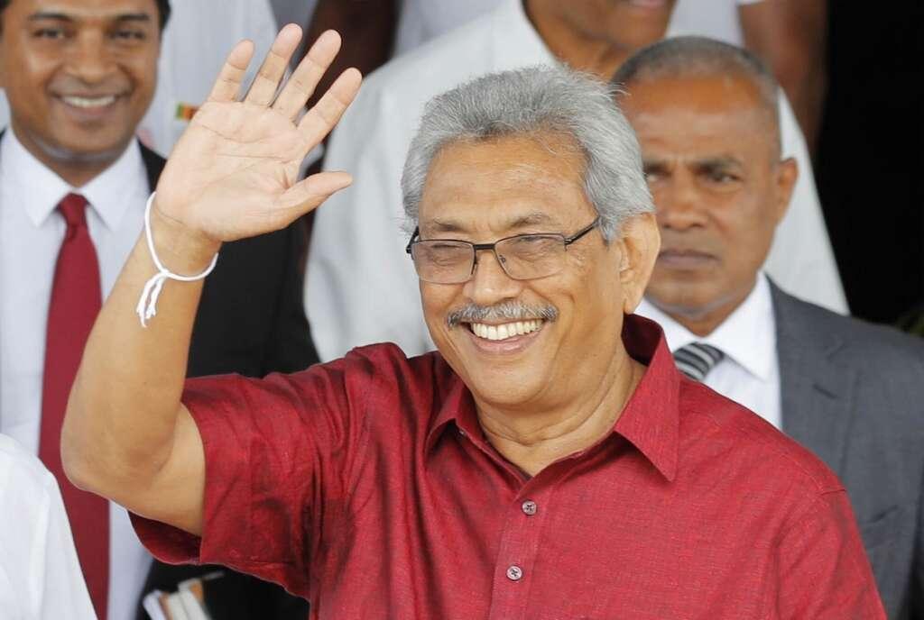 Gotabaya Rajapaksa, Sri Lanka election , Sinhalese