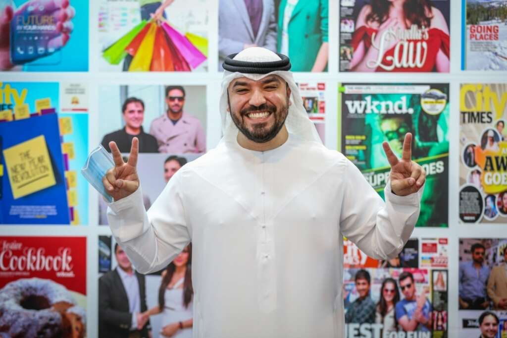 Khalid Al Ameri, Comedy, best way, break, cultural barriers,