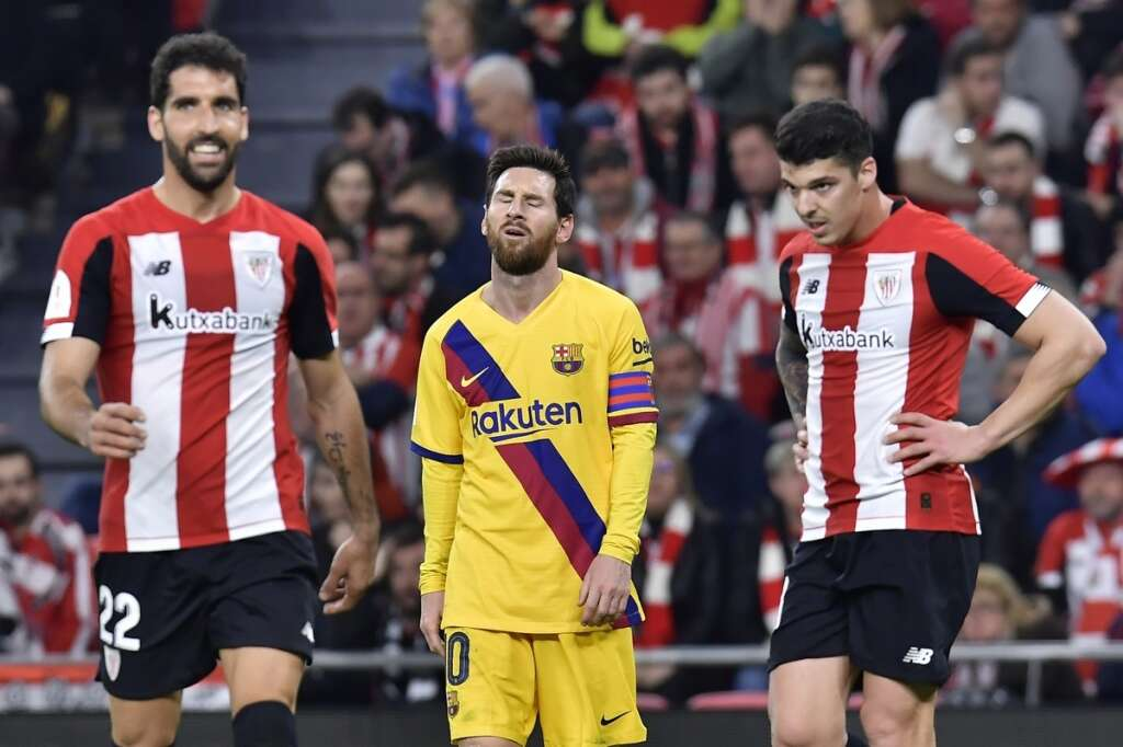 Barca, Real dumped out of Copa del Rey