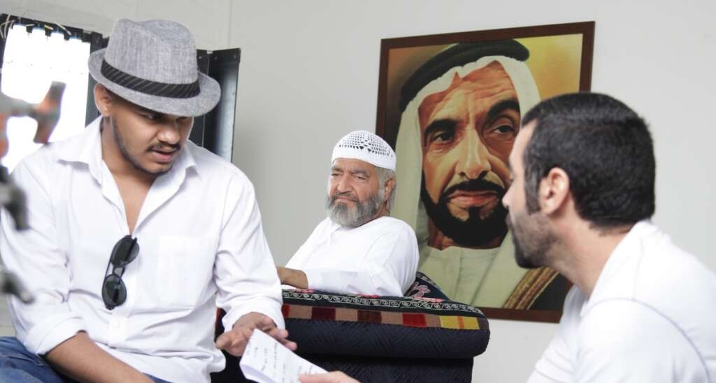Indian billionaire turns actor in a short film on Sheikh Zayed