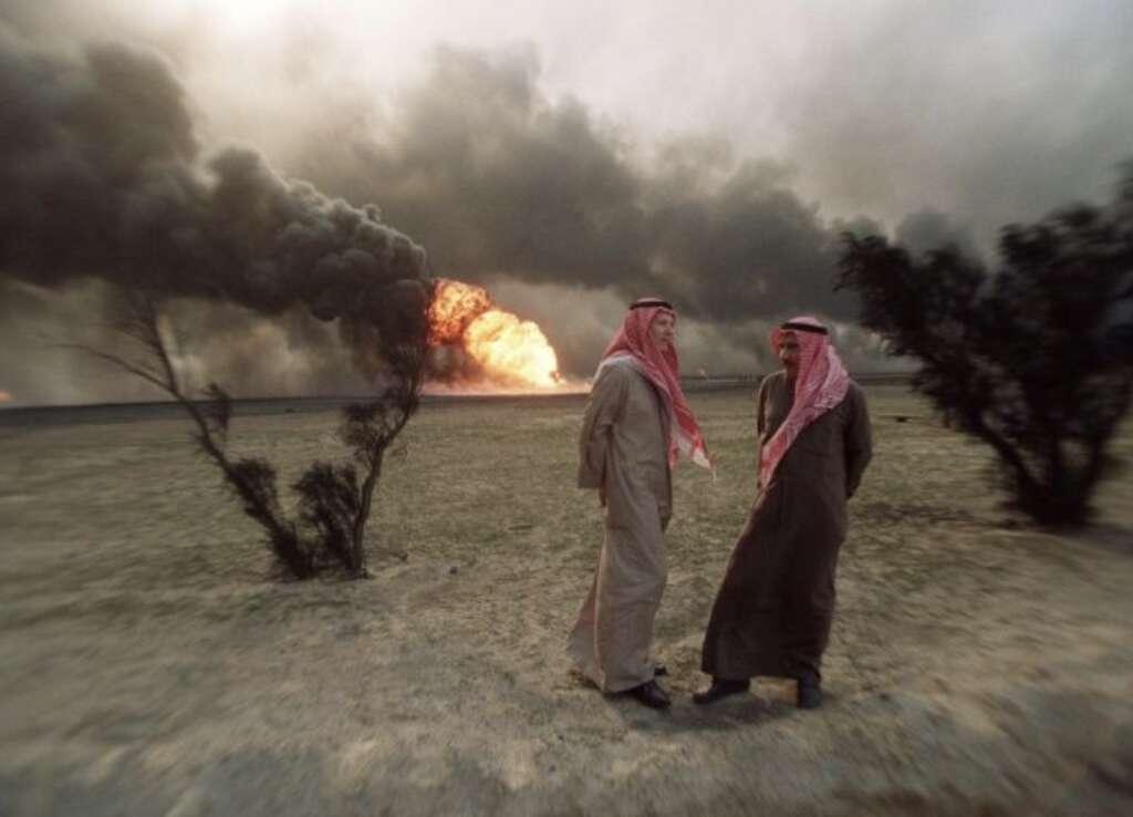 Saddam, Iraq, Kuwait, gulf war