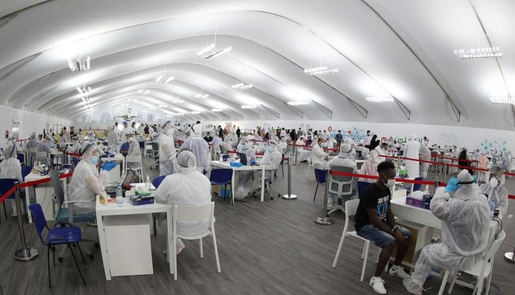 Gnahtoot, covid-19, coronavirus testing, laser test, abu dhabi, dubai