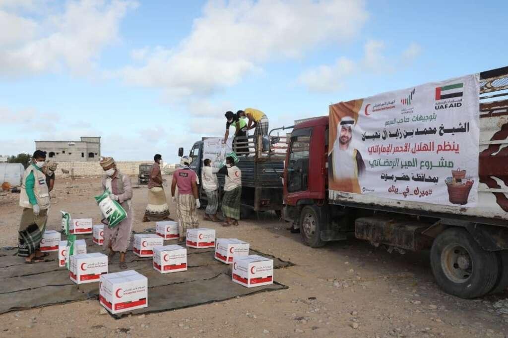 UAE, humanitarian, aid, Yemen, Emirates Red Crescent, Ramadan Mir