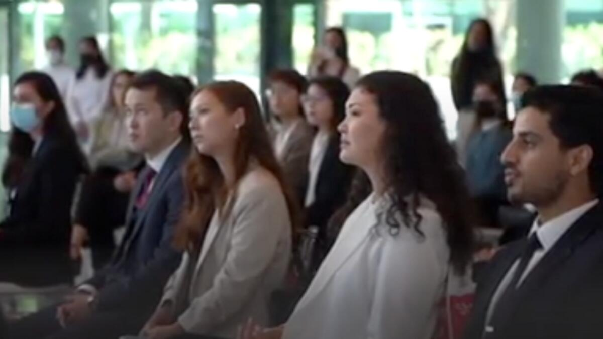 Dubai: Programme to develop future leaders welcomes students from around the world