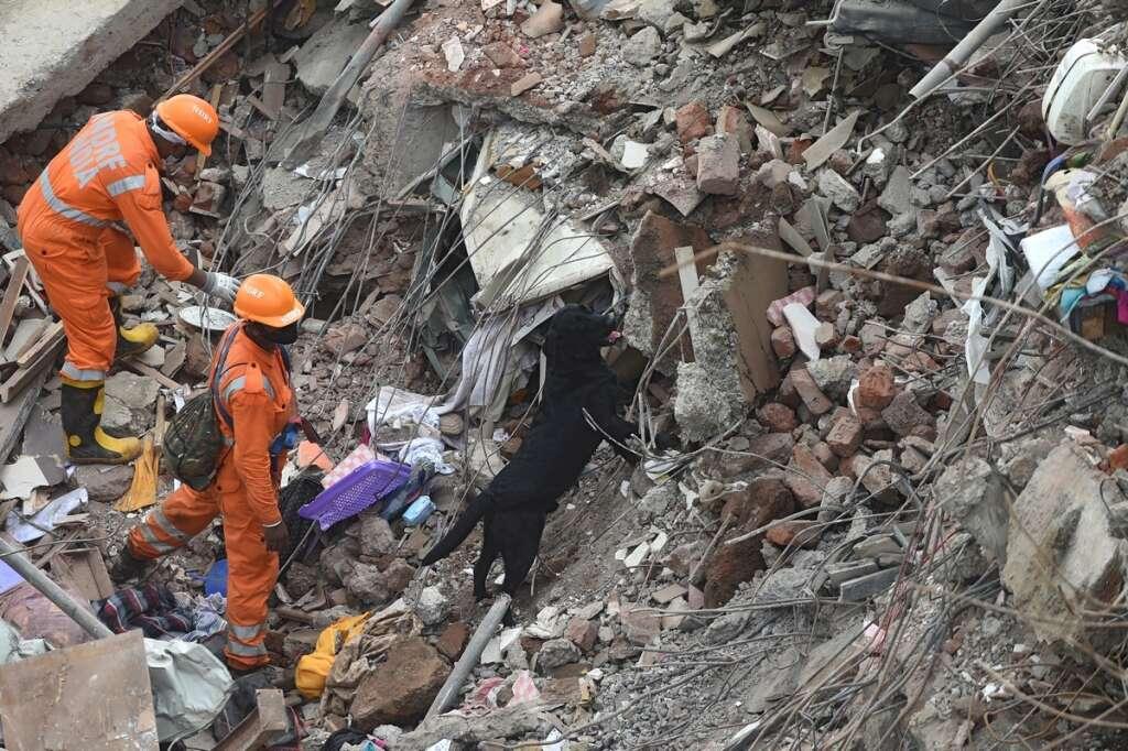 india, building, collapse, mahad, mumbai, death toll, 16