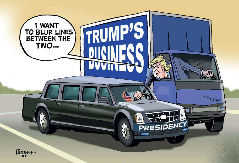 Trump vows to leave his business 'in total' - News | Khaleej