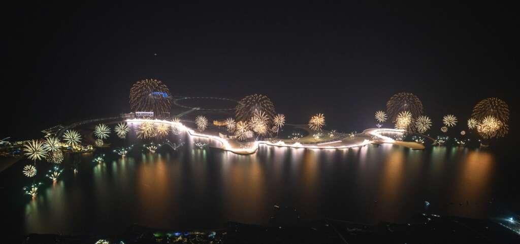 UAE, NYE fireworks display, world records,  Ras Al Khaimah