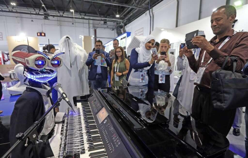 Gitex 2018: Last chance to meet five wonder robots in Dubai