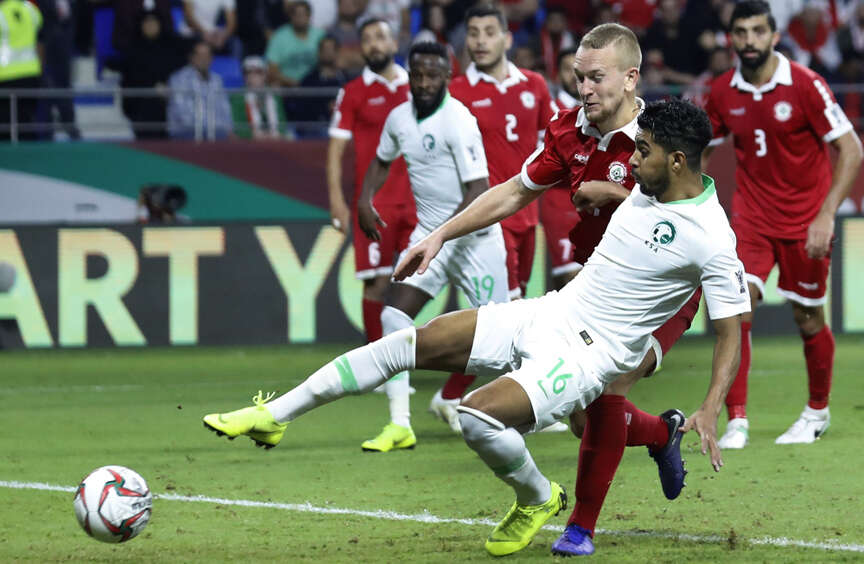 AFC Asian Cup: Saudi defeat Lebanon, march into round of 16