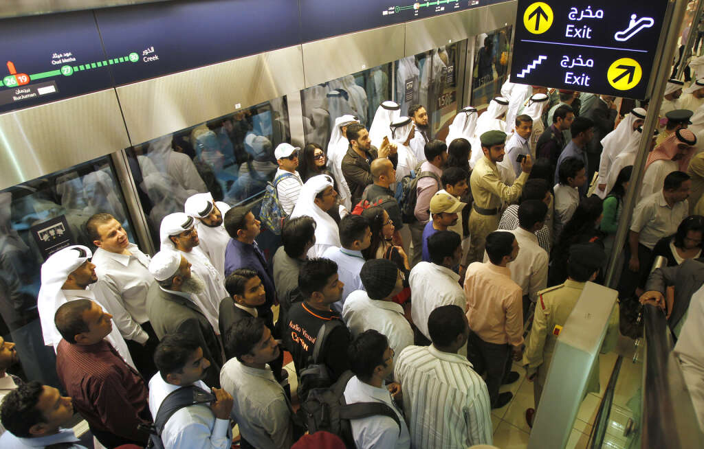Dubai Metro to help 900,000 on New Years Eve