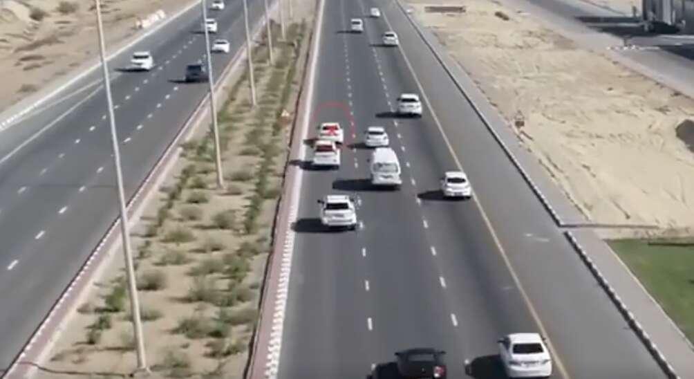 Police, traffiic, Fine, traffic rule in UAE