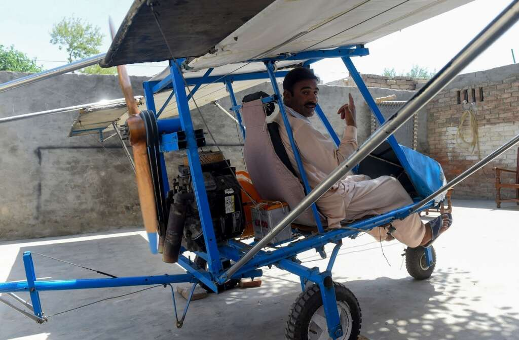 Video: Meet the Pakistani popcorn seller who built his own