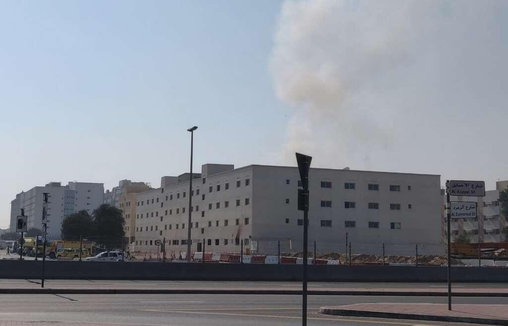 Dubai, fire, UAE