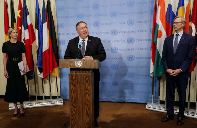 us, triggers, snapback, iran, united nations, nuclear deal, mike Pompeo, sanctions