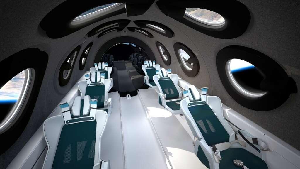 Richard Branson, fly, into, space, Virgin Galactic, rocketship, early, next, year