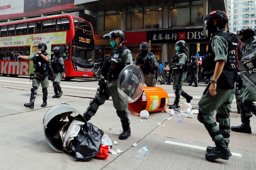 Hong Kong no longer deserves special U.S. status, Pompeo says ...