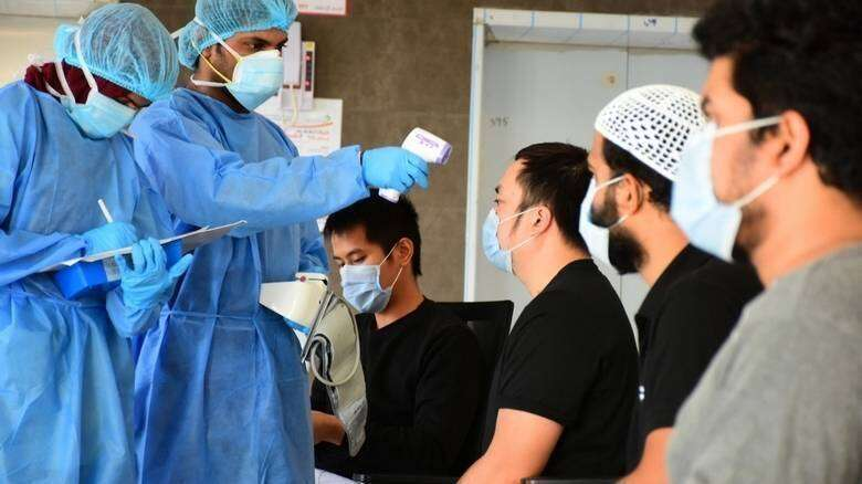 Mass testing, government support, Covid-19, low death, UAE, Doctors