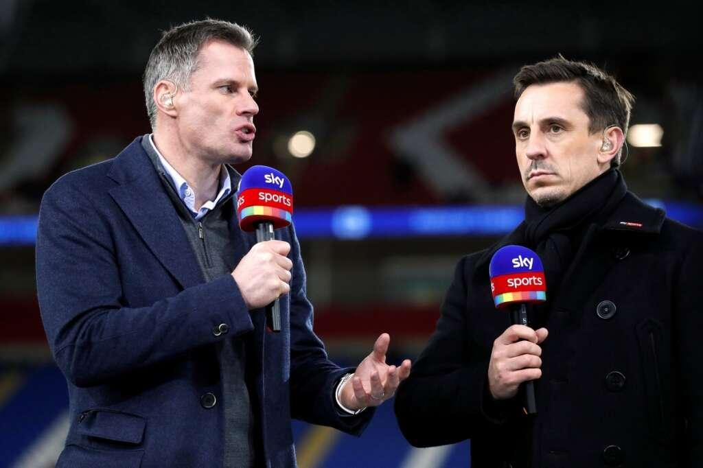 Keane, Neville slam United