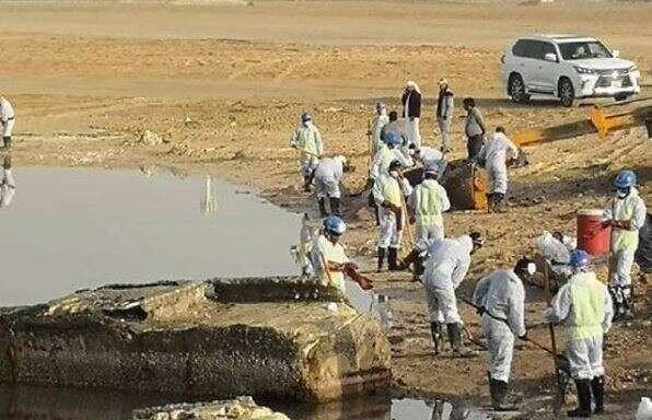 Oil spill in Abu Dhabi channel under control: Police