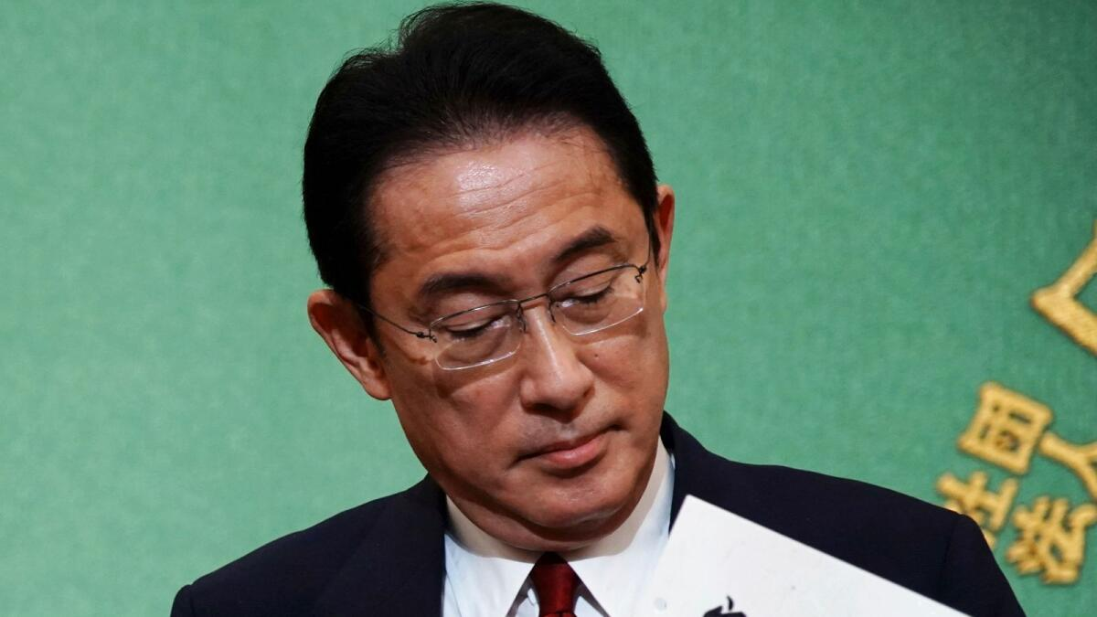 Japan PM contenders Kishida, Kono to face off in ruling party leadership runoff