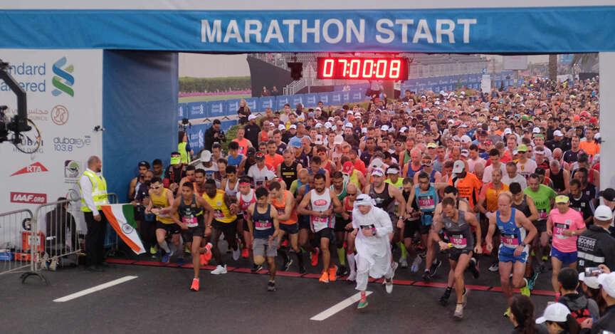 Record number of Emiratis expected to participate in Dubai Marathon