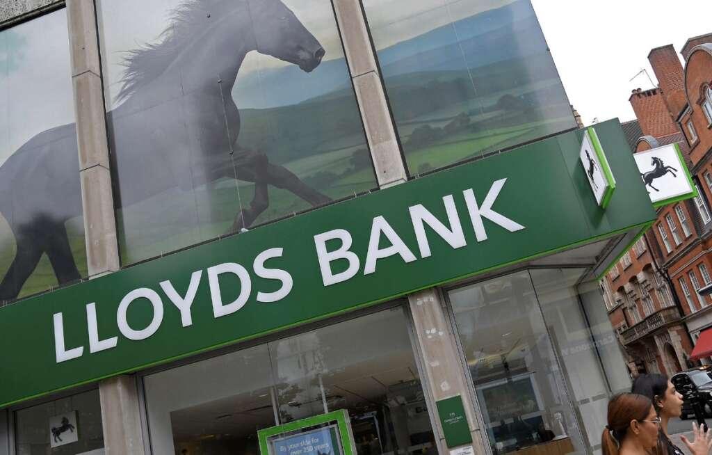 Lloyds Bank, customers, mortgage, fine