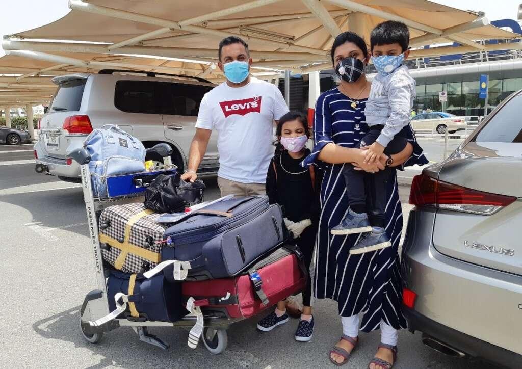 India2UAE, Emotional reunions, Dubai airport, stranded Indians, arrive