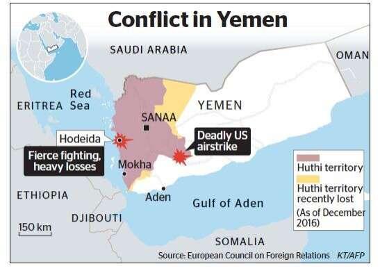 1 US soldier killed, three wounded in Yemen raid - Khaleej Times